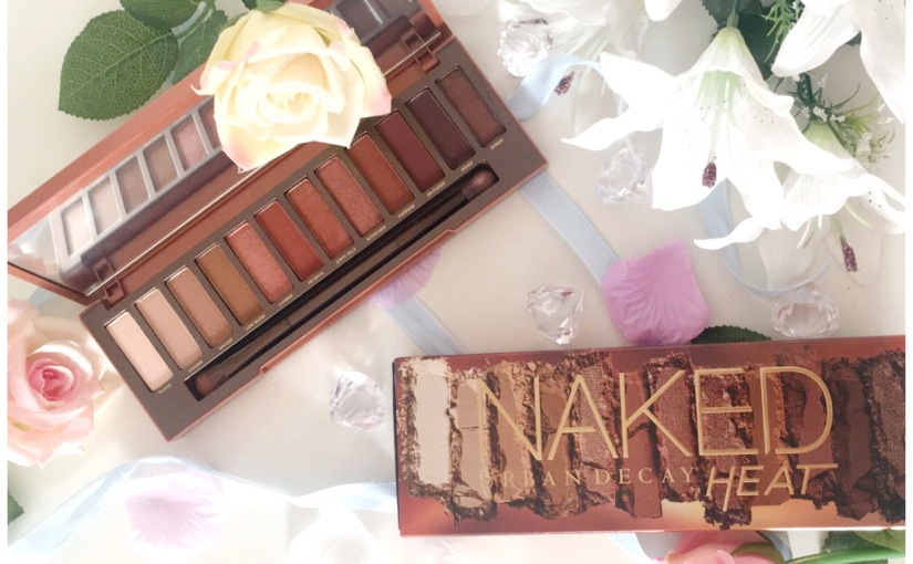 Urban decay; naked heat palette🔥🙌🏽