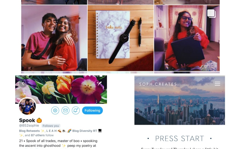 Blogging; Meet Soph👋🏽