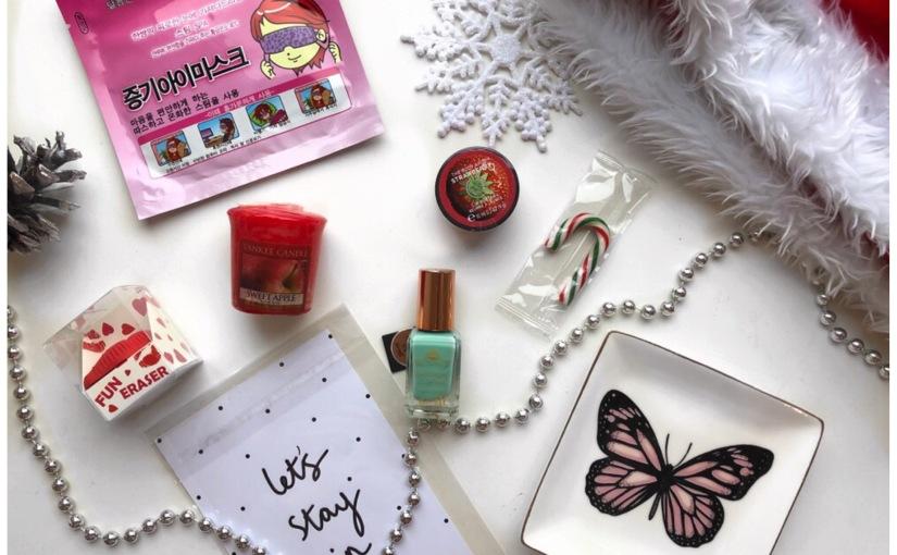 Lifestyle; girly secret santa🎅🏽🎁